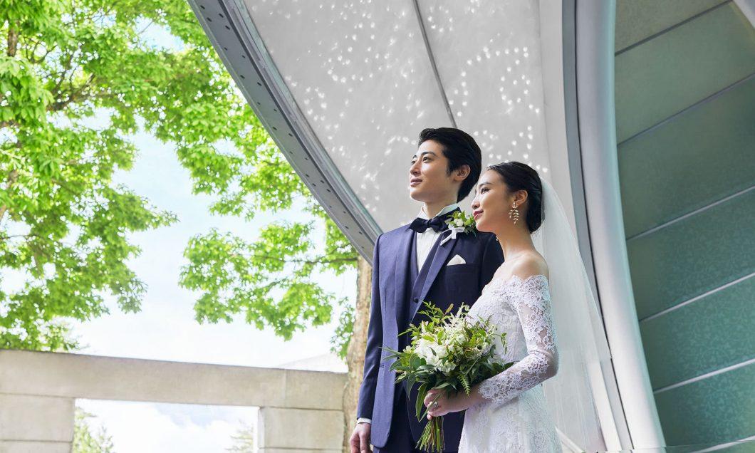 写真:おふたりだけの結婚式